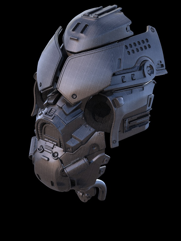 Mecha Head Top