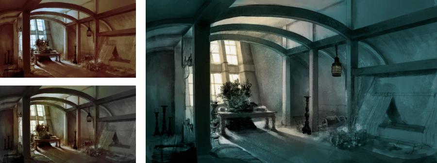 Domicile Color Studies