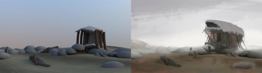 Earthsea Render Painting
