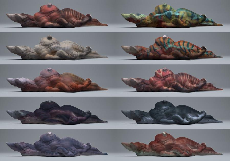 Sea Creature Colors